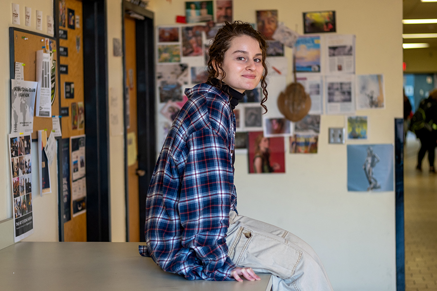 Emma Paladini is exploring her interest in Fine Arts as a student at SUNY Adirondack.