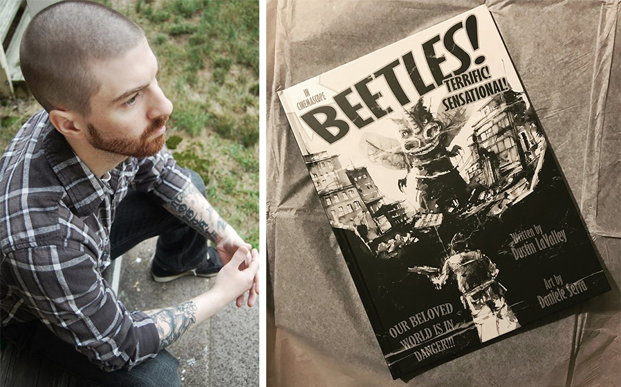 Dustin LaValley is the author of 'BEETLES.'
