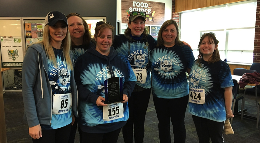 Members of the Road Scholars competed in the Rotary 5K.