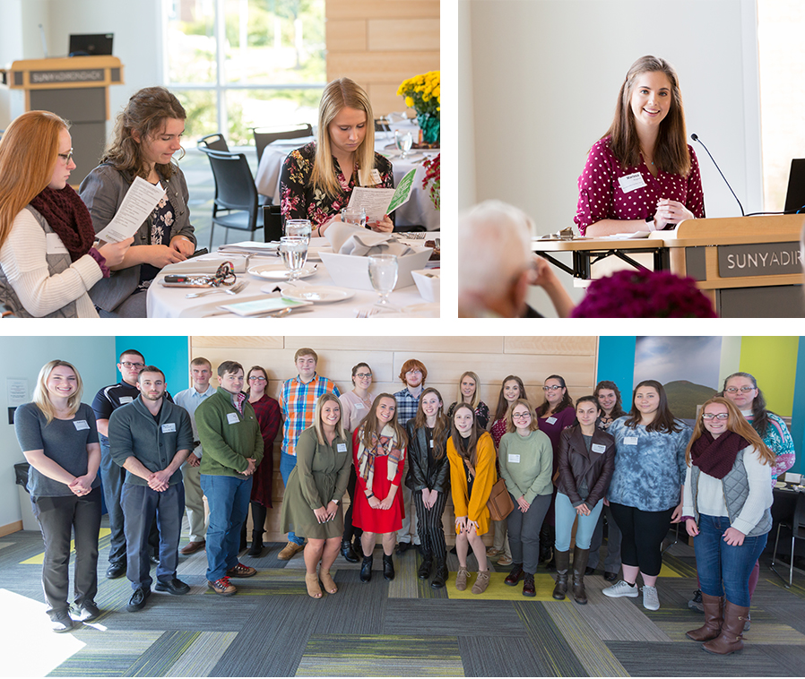 The SUNY Adirondack Foundation held a scholarship luncheon on Oct. 19, 2018 on the Queensbury campus.