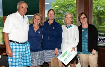 attendees of the 2018 golf tournament