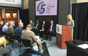 President Duffy at C5 Conference