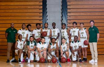 2020 Timberwolves Men's Basketball team photo