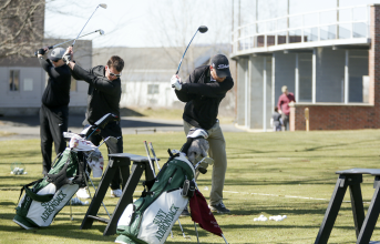 SUNY Adirondack golf players