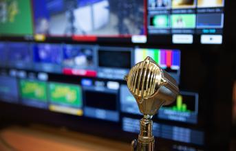TV Broadcasting studio