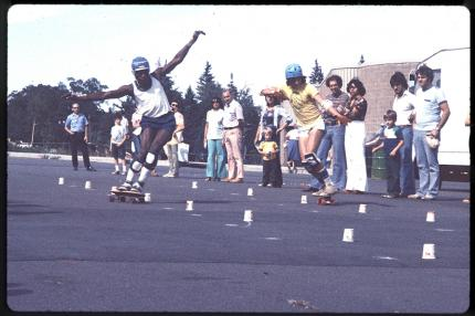 Wizards Kermit Taylor and Chris Kinzel in Nanuet NY in 1977