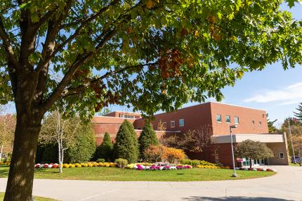 Scoville Learning Center on SUNY Adirondack campus
