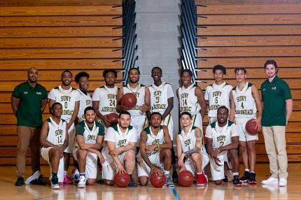 2020 Timberwolves Men's Basketball team photo