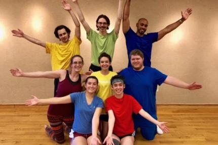 SUNY Adirondack students performing in children's show