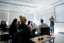 substance abuse classroom lecture