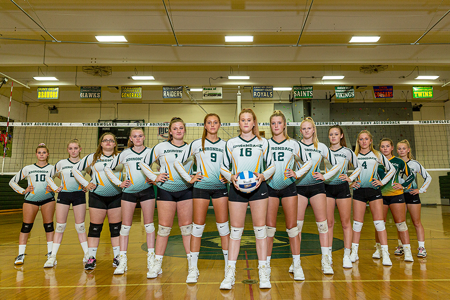 The SUNY Adirondack volleyball team will play in the NJCAA Region 3 Regional Tournament Nov. 2-3 in Niagara.