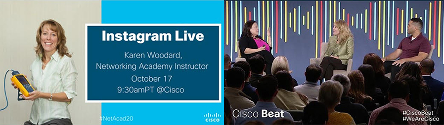 Karen Woodard participated in a Cisco Beat event on Oct. 17, 2017.